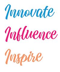 Innovate Influence Inspire